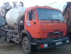 Автобетоносмеситель КАМАЗ